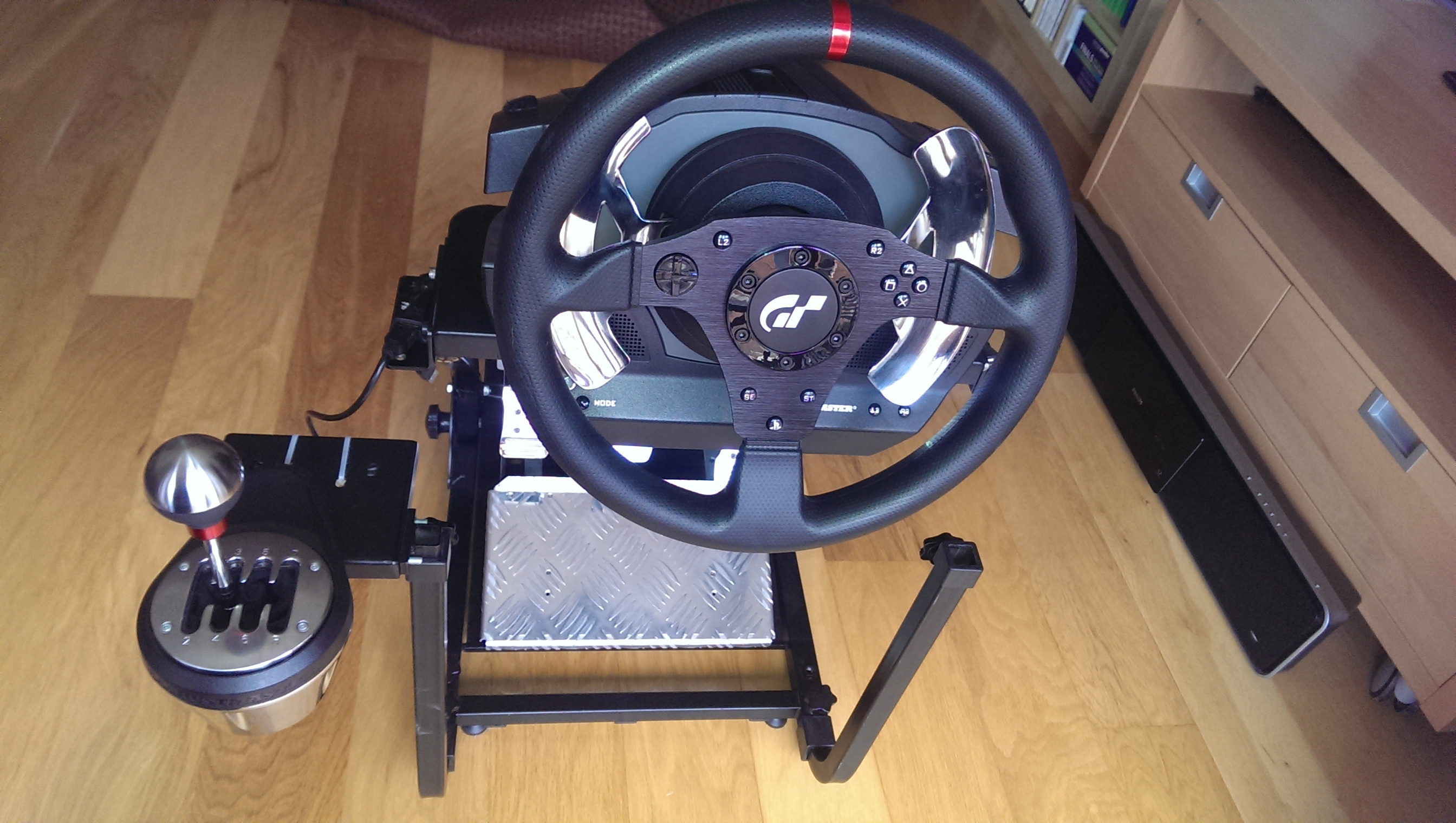 Gt Omega Wheelstand Cheap Dual Flight Racing Solution Home Cockpits Ed Forums