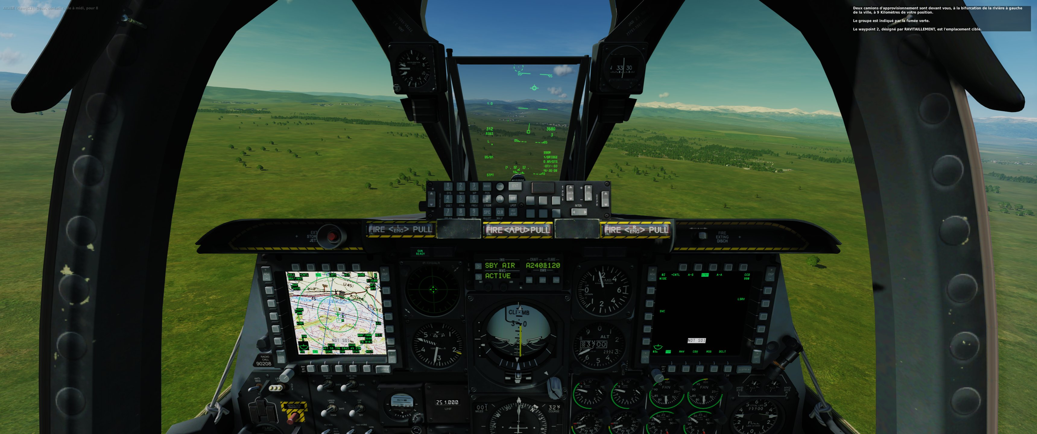 how to increase text size font in top right - DCS World 2 ...